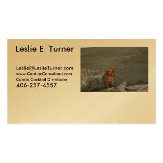 - Cardio - Cocktail - Leslie E. Turner - Business Card Template