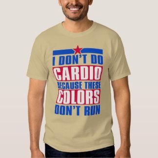 Cardio Colors - Tshirt