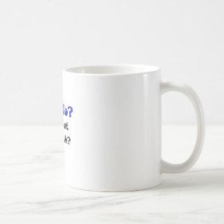 Cardio is that English Coffee Mugs