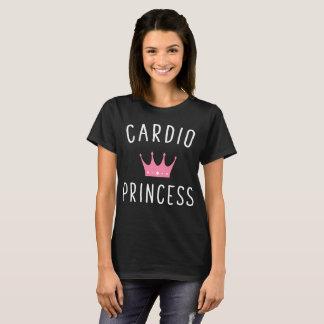 Cardio Princess Pink Crown Workout T-Shirt