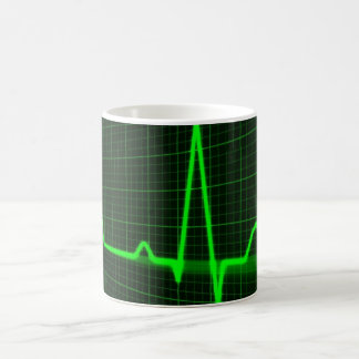 cardiogram ecg pattern for Classic White Mug