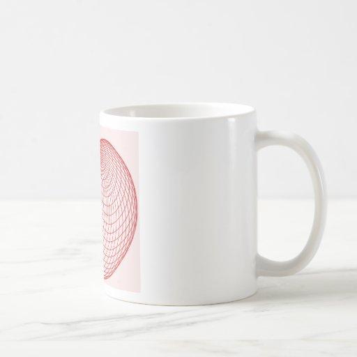 cardioide coffee mug