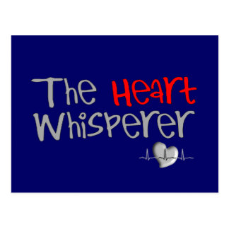 "Cardiologist Gifts ""The Heart Whisperer"" Postcard"