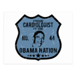 Cardiologist Obama Nation Post Card