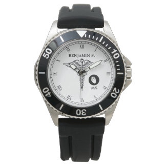 Cardiologist Personalized Name Watch