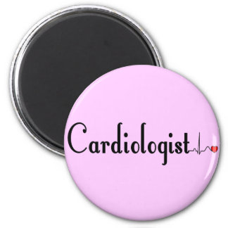 Cardiologist QRS Complex Gifts Magnets