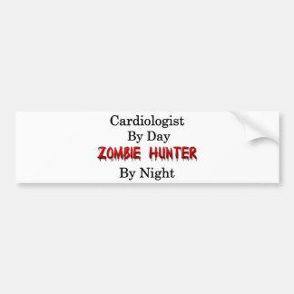 Cardiologist/Zombie Hunter Car Bumper Sticker