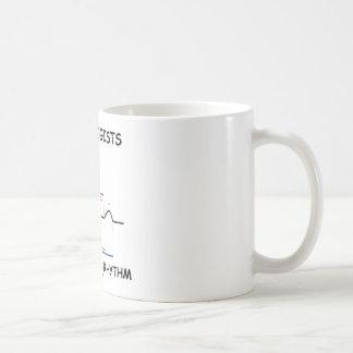 Cardiologists Do It With Rhythm (ECG/EKG) Coffee Mug