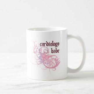 Cardiology Babe Basic White Mug