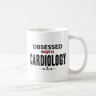 Cardiology Obsessed Basic White Mug