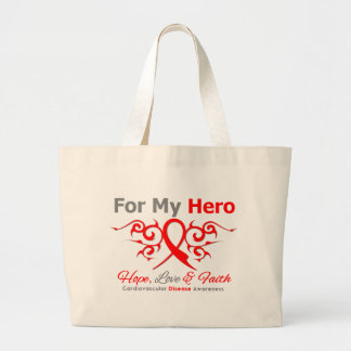 Cardiovascular Disease For My Hero Canvas Bags