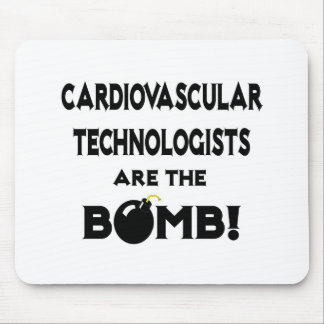 Cardiovascular Technologists Are The Bomb! Mouse Pad