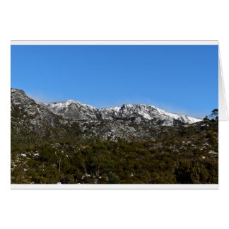 CARDLE MOUNTAIN TASMANIA AUSTRALIA CARD