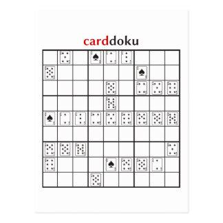 cardoku spades postcard