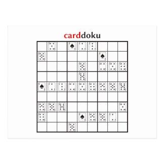 cardoku spades post cards