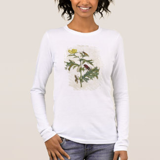 Cardos Spinosus: Beetles and Caterpillars, plate 6 Long Sleeve T-Shirt