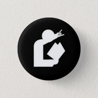 """Cards Against Librarianship"" Logo Button"