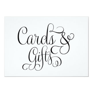 Cards and Gifts Wedding Sign 13 Cm X 18 Cm Invitation Card