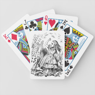 Cards Attack Alice in Wonderland