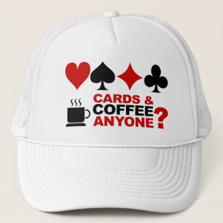 Cards & Coffee hat