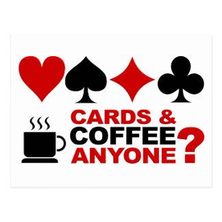 Cards & Coffee postcard