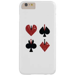 cards design lovers barely there iPhone 6 plus case