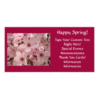 Cards Invitation Announcements Events Blossoms Personalized Photo Card