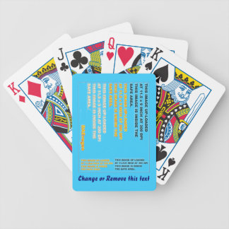Cards Playing Bicycle All Editions Bicycle Poker Deck