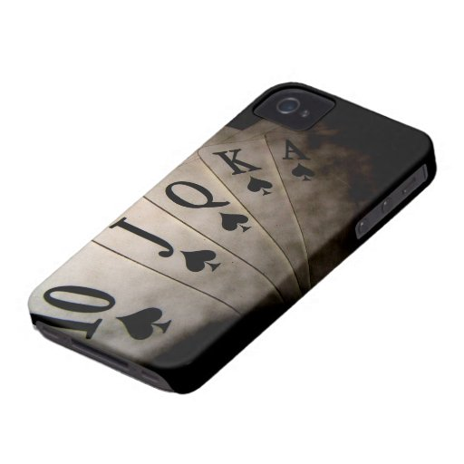 Cards poker iPhone 4 Case-Mate case
