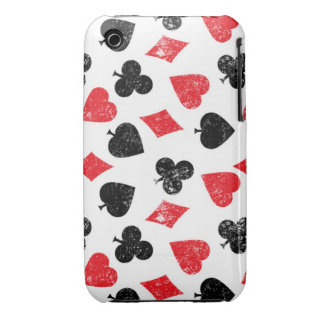 Cards poker House of card club spade heart diamond Case-Mate iPhone 3 Cases