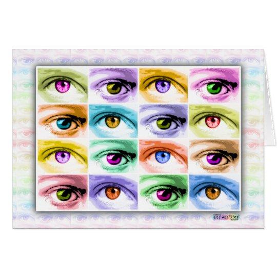 Cards - Pop Art Eyes