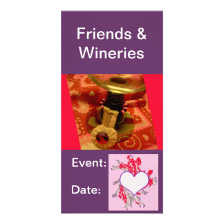 Cards:  Wine Tasting, Winery Photo Greeting Card