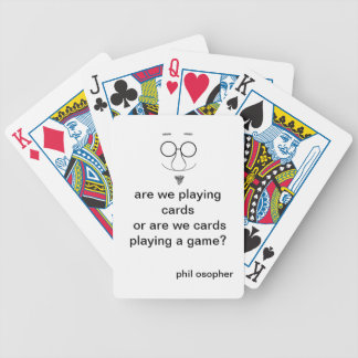 cards with a philosophical twist