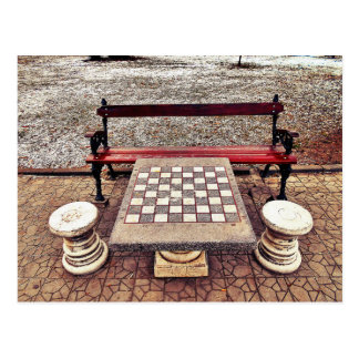 Care For A Game Of Chess? Postcard