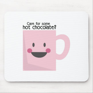 Care For Some Hot Chocolate? Mousepad