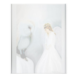 Care Guardian Angel and White Owl Flyer