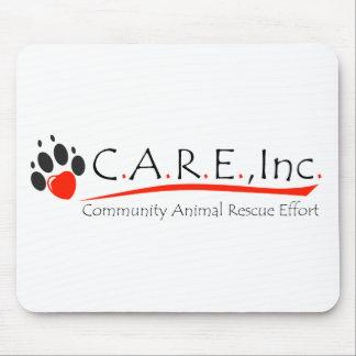 CARE logo mousepad