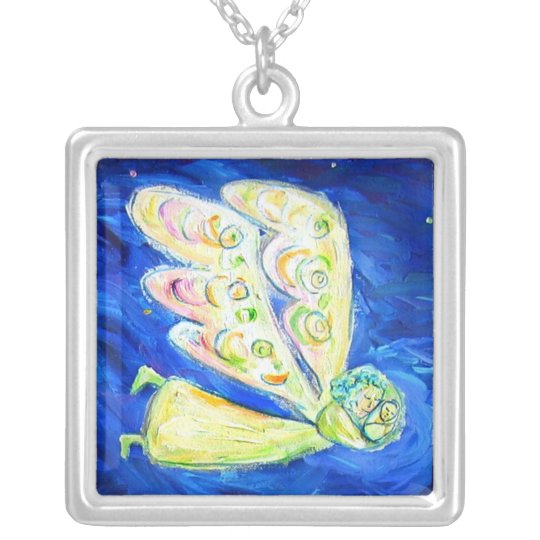 Care of the Soul Angel Art Custom Pendant