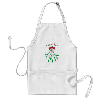 Care To Kiss Aprons