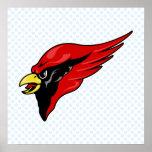 Careem Cardinal Print