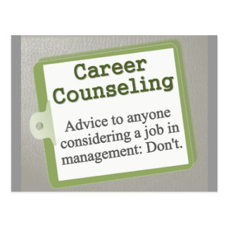 Career Counseling  Postcard