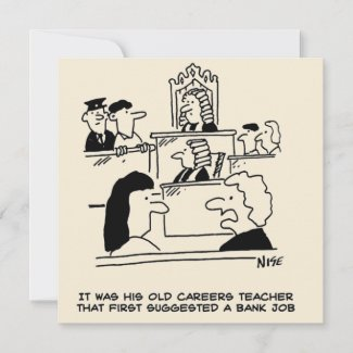 Careers Advice Means Man Ends Up in Court Card