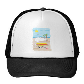 Carefree Dog Paw of Attraction Tshirt Trucker Hat