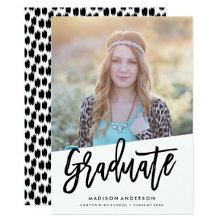 Carefree Graduation Announcement