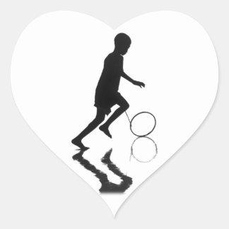 Carefree Heart Sticker