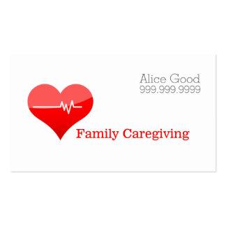 Caregiver Caregiving Nurse Nursing Health Care Pack Of Standard Business Cards