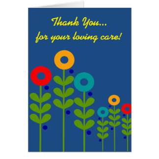 Caregiver Thank You Card III
