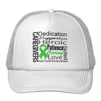 Caregivers Collage Traumatic Brain Injury Trucker Hat