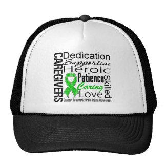 Caregivers Collage Traumatic Brain Injury Mesh Hats