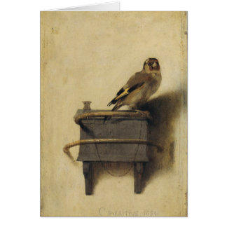 Carel Fabritius The Goldfinch Card